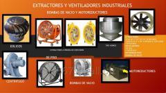 Extractores Y Ventiladores Industriales