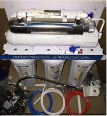 Filtro domestico ultrafiltracion agua casa