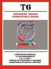Drenador tanque combustible diésel
