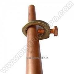 Rods for applying of grounding