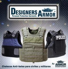 Chalecos anti-balas Ropa de protección personal