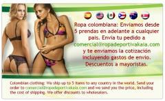 Ropa colombiana femenina