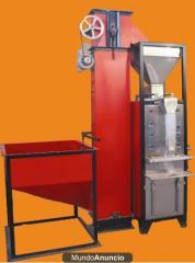 Maquina empacadora selladora semiautomatica para