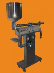 Maquina dosificadora para liquidos viscosos y