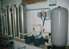 Planta modular de purificación de agua a presión