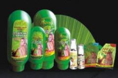 Shampoo de línea botánica