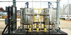 Sistemas integrales de dosificación de químicos