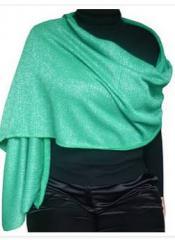 Bufanda brillante verde
