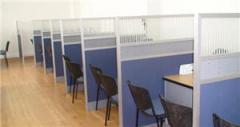Divisiones en vidrio templado para oficinas