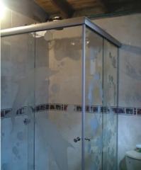 Cabinas de baño cristales