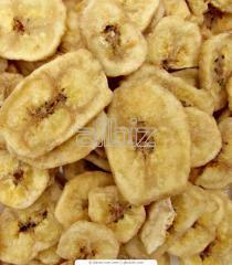 Banano deshidratado
