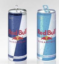 Energizantes Red Bull