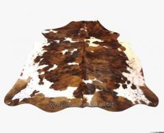 Tapetes en piel de vaca con pelo