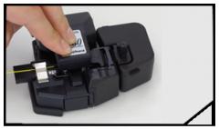 Cortadora de alta precisión para fibra óptica