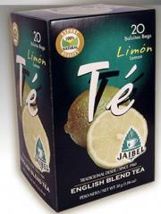 Té negro saborizado Limón