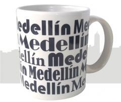 Mug Medellin Fondo Blanco