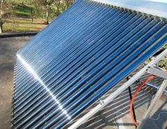 Tubos evacuados para producción de energía solar