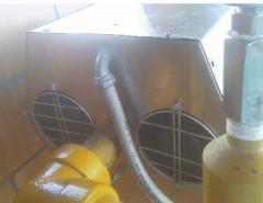 Сalentador para plantas descompresoras de gas