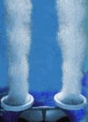 Aireadores de agua.
