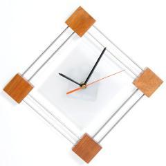 Reloj acrílico