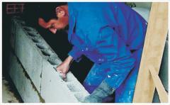 Mortars and mixes, cement-base