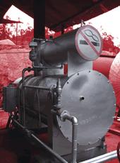 Thermal oil boilers