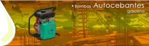 Bombas Autocebantes en aluminio con motor a