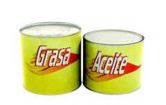 Package made of canning tin