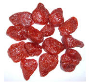 Dried strawberry