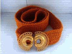 Cinturon Joyería Precolombina