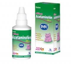 Acetaminofén MK - Gotas