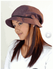 Gorra de mujer