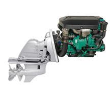 Motores diesel marinos D3-140,200,220 DPS