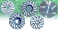 Diamond polishing blades