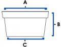 Envases térmicos sin tapa 1 Lt