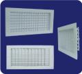 Rejillas de suministro una aleta con dámper multi-shutter (paralelo)  L-VM / L-HM