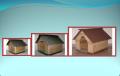Casa en pino para perros No 01-1-2