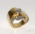 Anillo Solitario diamante 1