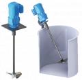 Agitador VR4A-040 para mezclas sencillas. Volumen depósito hasta: 2.8m³