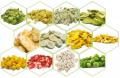 Vegetales deshidratados
