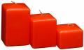 Velas Cuadradas Naranjas