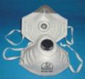 Respirador con válvula contra vapores