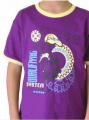 Camiseta T-Shirt Contraste