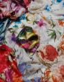 Tejidos de viscosa, lana, seda, lino, algodón, poliéster y nylon