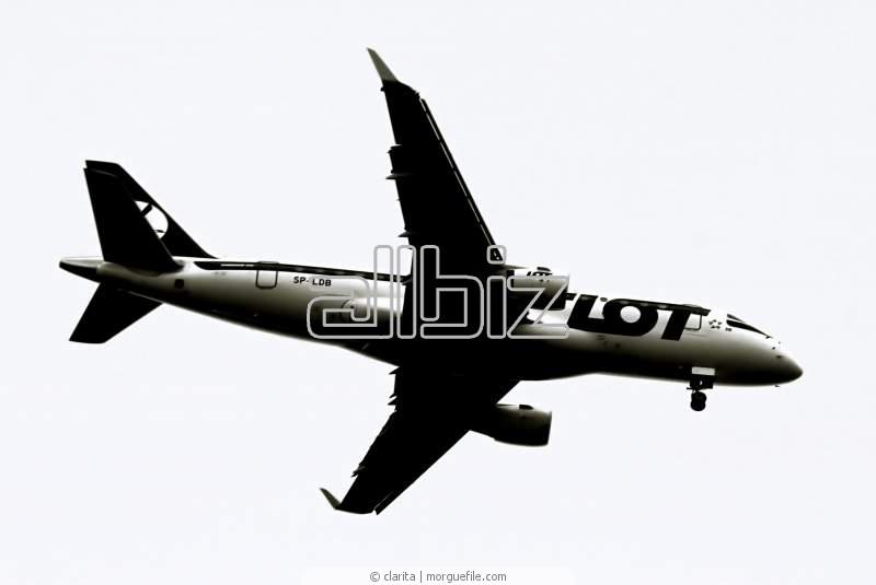 Pedido Transporte aéreo internacional de carga