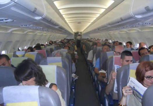 Pedido Transporte aereo de pasajeros