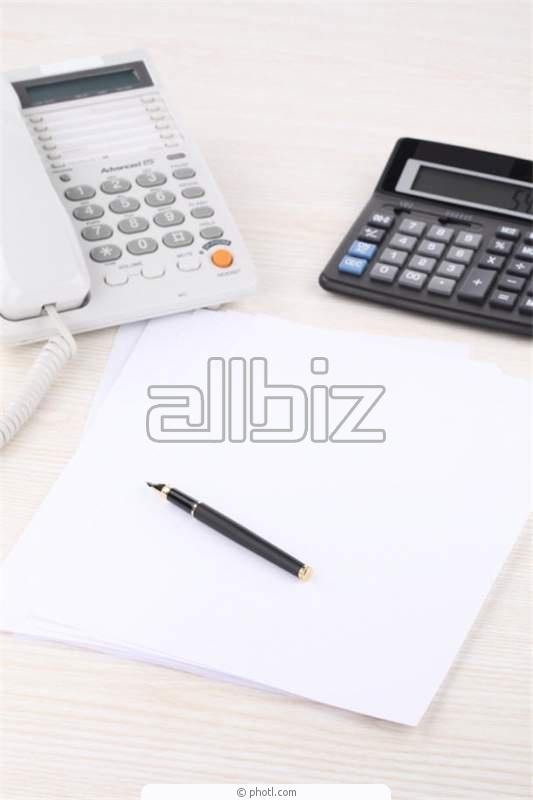Pedido Organización de contabilidad
