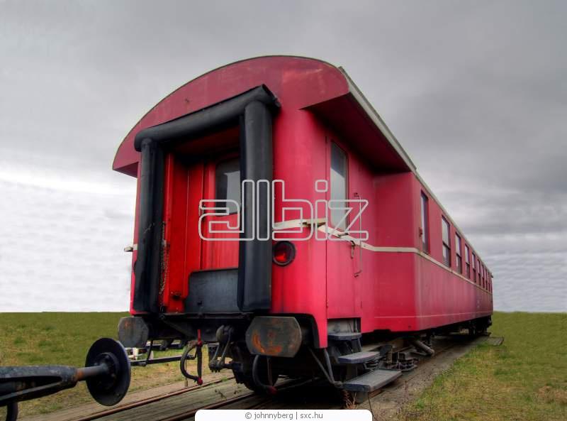 Pedido Logística de transporte ferrocarril