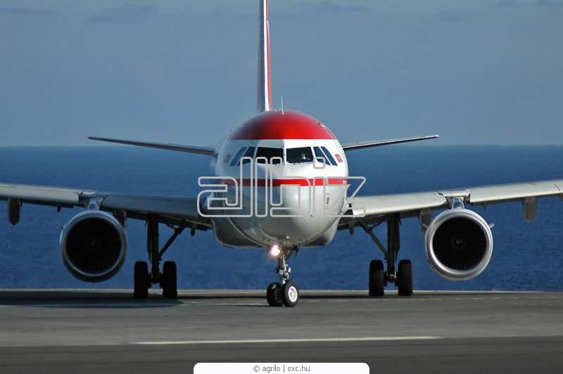 Pedido Transportación de cargas en aviones