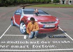 Pedido Publicidad en asfalto